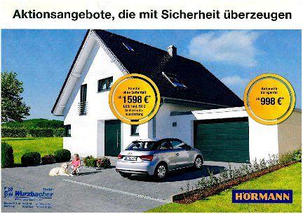 preis aktion haust ren und garagentore die mit sicherheit berzeugen wurzbacher gmbh in hof. Black Bedroom Furniture Sets. Home Design Ideas